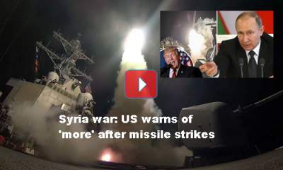 US missile strikes