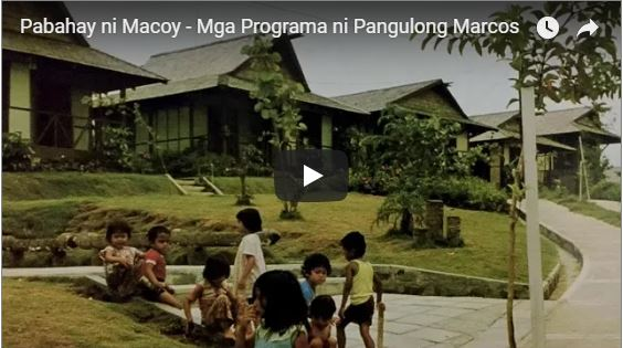 The Works of Ferdinand Marcos Stand to Give Credit to his Son, Bongbong Marcos