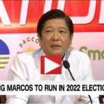 The Mistake that Bongbong Marcos Avoids for the Elections 2022