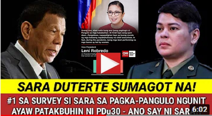 Lawyer and Politician Sara Duterte-Carpio's Plan for 2022 Election favors BBM